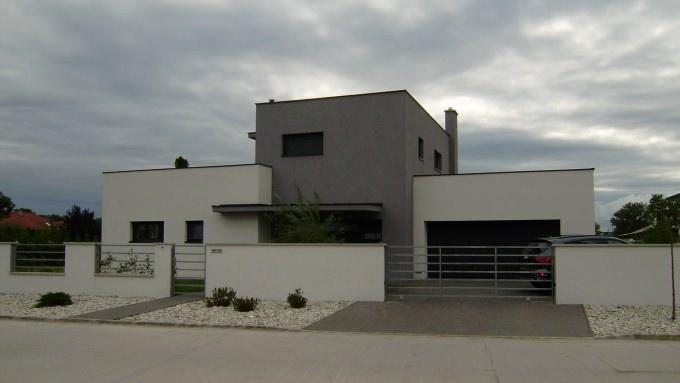 Győr  modern lakóház tervezése